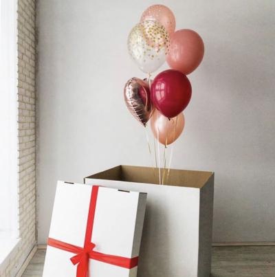 Коробка-сюрприз без надписи