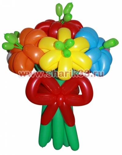 Мини-букет из 7 цветков