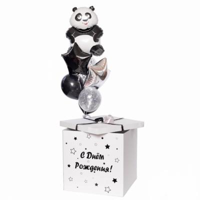 Коробка-сюрприз с пандой