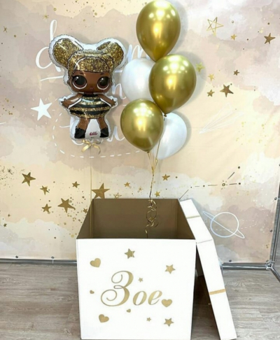 Коробка-сюрприз с Королевой пчел