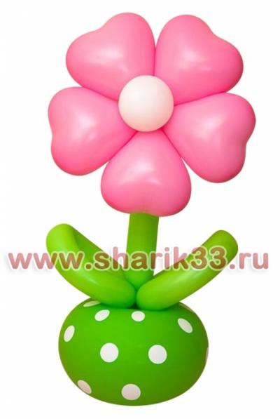 Цветок-неваляшка