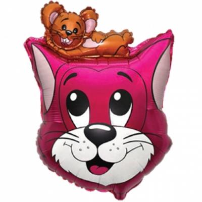 Том и Джерри розовый