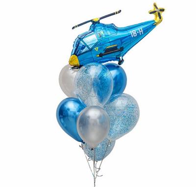 Синий фонтан с Вертолетом