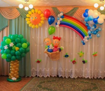 Оформление детского сада №62