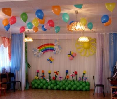 Оформление детского сада №71