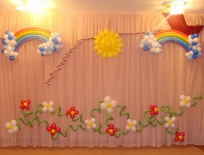 Оформление детского сада №67