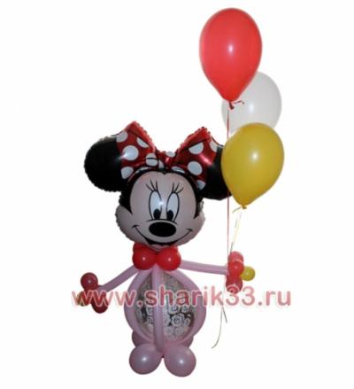 Микки-Маус c шариками