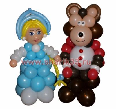 Маша и Медведь (Новогодний вариант)
