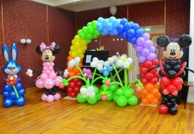 Оформление детского сада №84