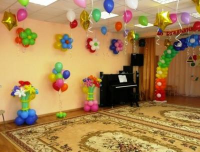 Оформление детского сада №85