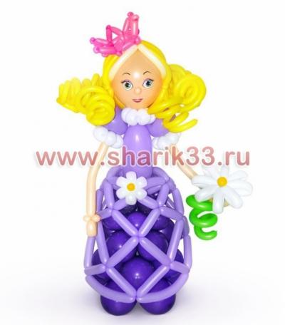 Принцесса с цветочком
