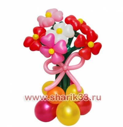 Стойка с 7 цветками