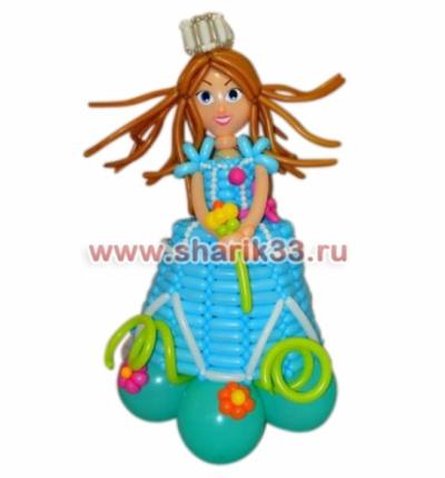 Принцесса в платье