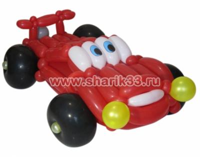 Машина из шаров