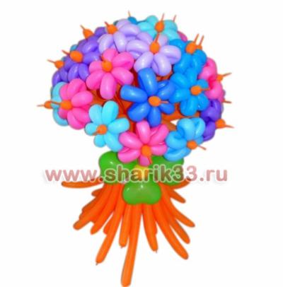 Яркий букет из 25 цветков