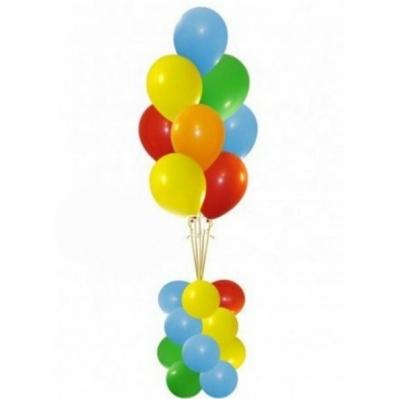 Фонтан из 9 шаров на подставке