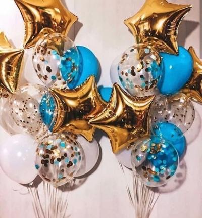 Фонтан из 12 шаров