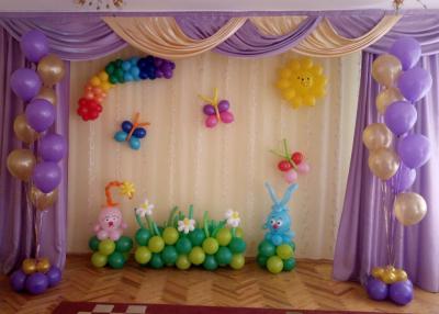 Оформление детского садика во Владимире №89