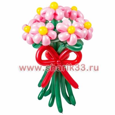 Розовые ромашки (7 шт.)