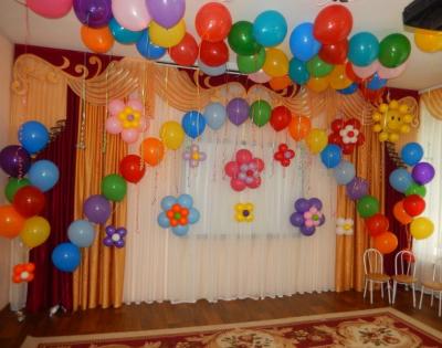 Оформление детского сада №110