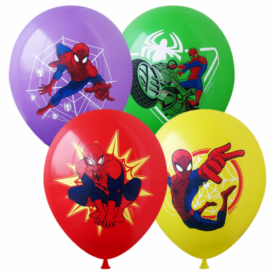 Гелиевые шары Человек Паук