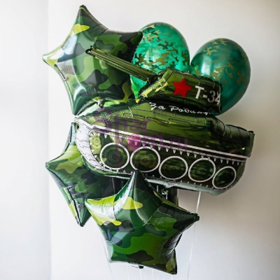 Камуфляжный набор с танком