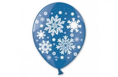 Гелиевые шары снежинки
